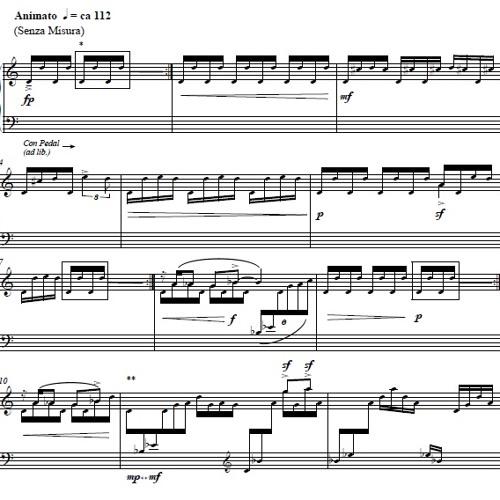 Intermezzo (for solo piano)