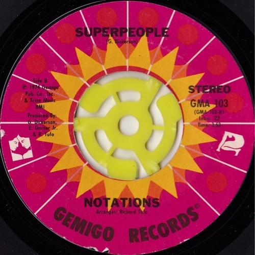 The Notations - Super people (Disco Tech dj edit)