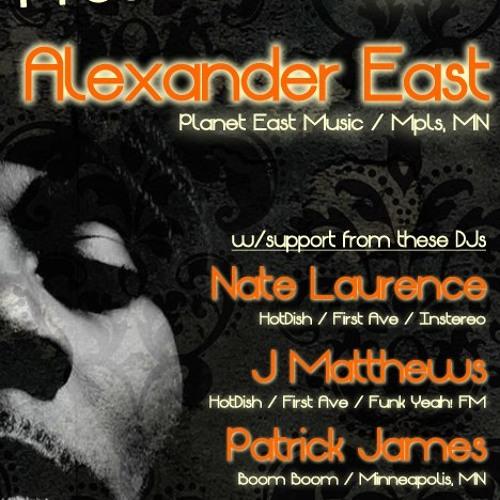 ALEXANDER EAST - LIVE @ HotDish 1-26-13