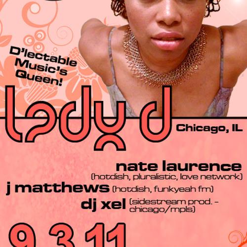 LADY D - LIVE @ HotDish 9-3-11