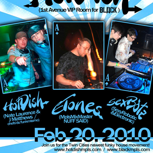 ETONES - LIVE @ HotDish 2-20-10