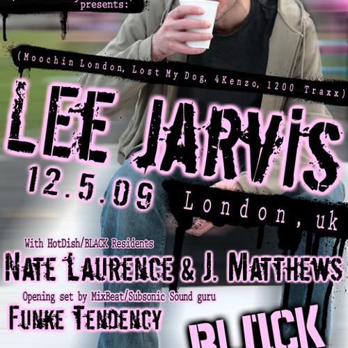 LEE LARVIS - LIVE @ HotDish 12-5-09