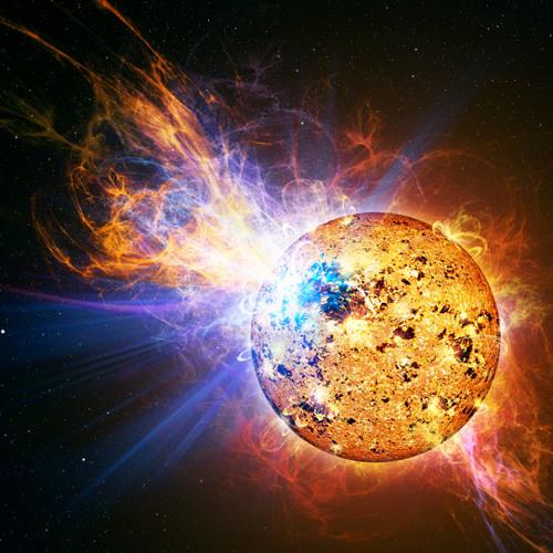 Sennid meets Steenkoud - SOLAR FLARE