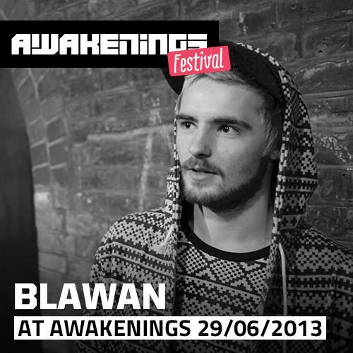 Blawan at Awakenings Festival 2013