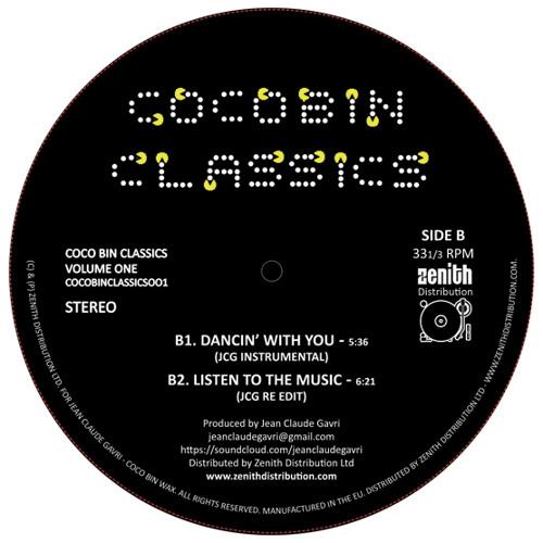 = NEW RELEASE - July 2013 = Coco Bin Classics Vol. 1 - Jean Claude Gavri = COCOBINCLASSICS001