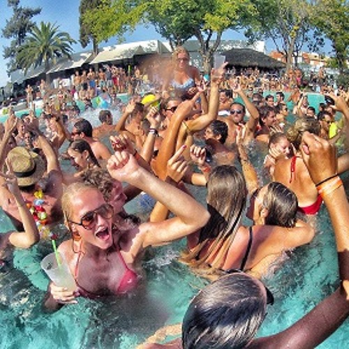 Winter Pool Party Mix