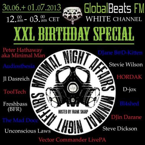 Audiosthesia @ MNA XXL B-Day Special globalbeats.fm 30-06-2013