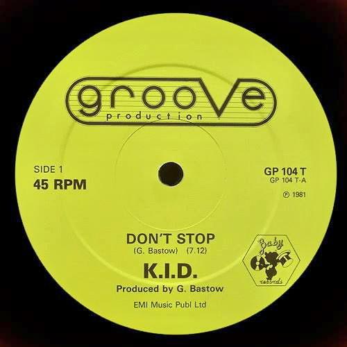 "K.I.D. - Don't Stop (Dj ""S"" Bootleg Extended Dance Re-Mix)"