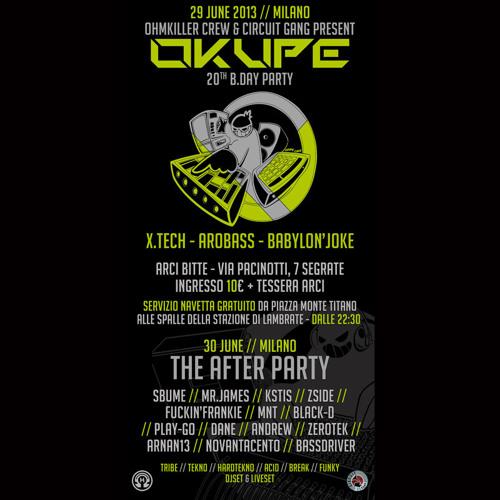 KSTIS (Ohmkiller Crew) - Liveset @ Okupé After Party