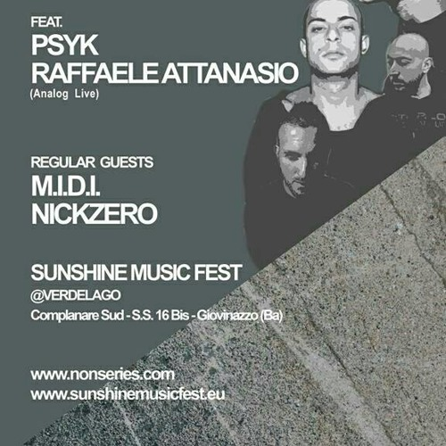 Nick Zero @ SUNshine Music Fest 29.06.2013