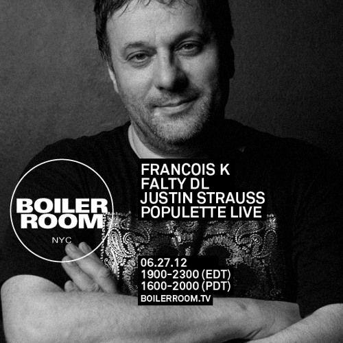 Justin Strauss 60 Min Mix Boiler Room NYC