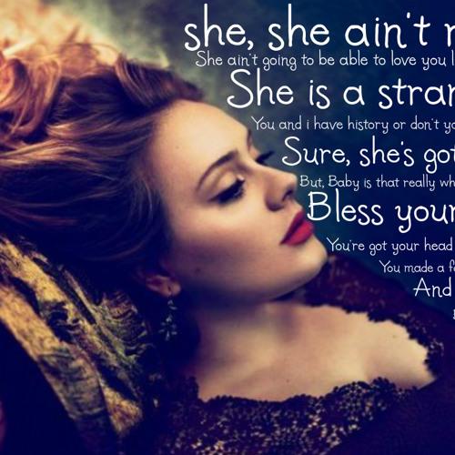 tH_bAsTeRdS x Adele 20 #RumorHasIt