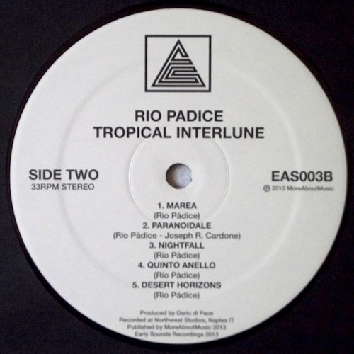 "[Eas003] Rio Padice - ""Tropical Interlune"""