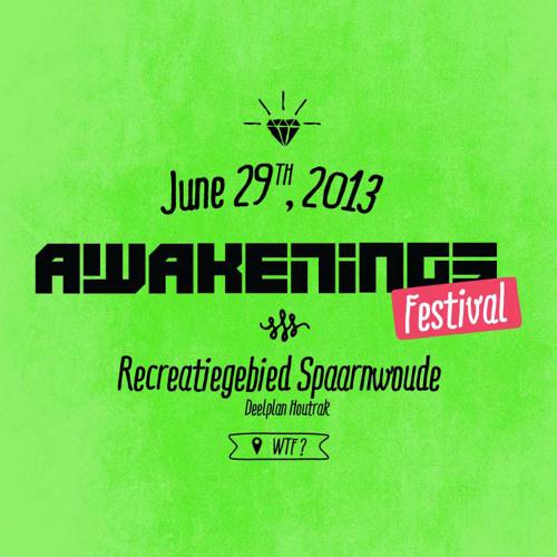 O.B.I. & ViperXXL @ Awakenings Festival 2013