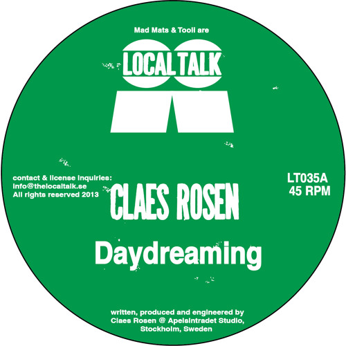 Claes Rosen - Daydreaming (LT035, Side A) (Snippet)