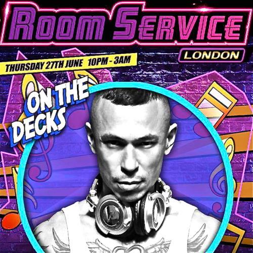 "CLUB ROOM SERVICE LONDON ""THE MIX"" by DJ.LEOMEO"