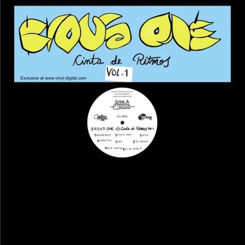 "Brous One - Cinta De Ritmos Vol. Uno (Snippet) [10"" vinyl / tape]"