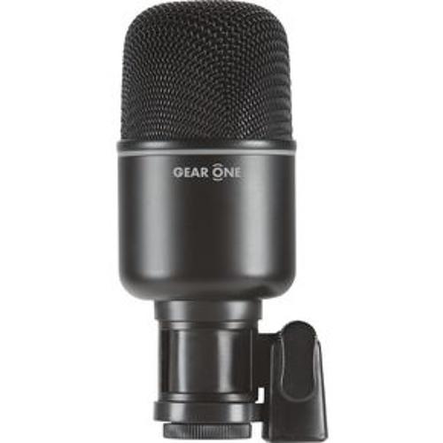 Gear One MK1000 kick microphone sample/demo w/raw mic output