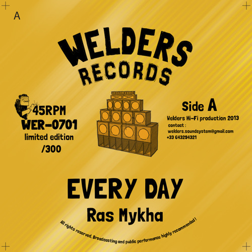 WER0701- A.Every Day - Ras Mykha - T.i.T