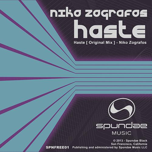 Niko Zografos - Haste (Original mix) [SPUNDAE MUSIC]