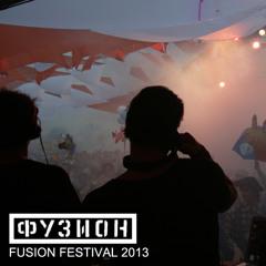 PAN-POT @ FUSION 2013 ( Live Recording )