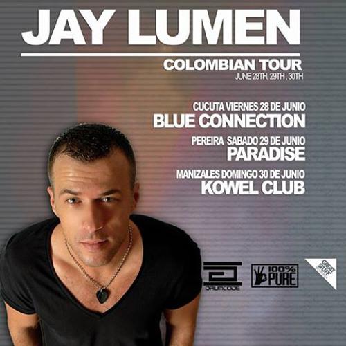 Jay Lumen live at Kowel Club Manizales Colombia 30 june 2013