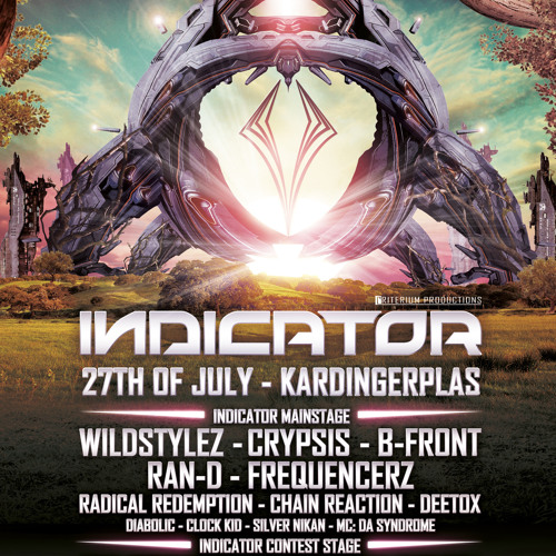 Crypsis - Indicator Outdoor 2013 Promo Mix