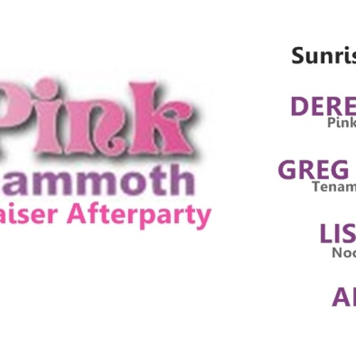 Greg EVERSOUL Live At Pink Mammoth Afterparty at Sunrise TENT San Francisco