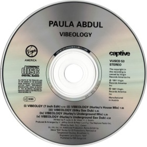 Paula Abdul 'Vibeology' Keith's Cohen House Mix [R.visit.d by Z.ee]