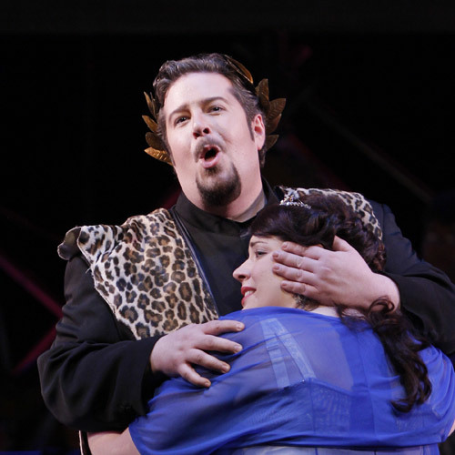 Greg Carroll as Bacchus, Seattle Opera 2010