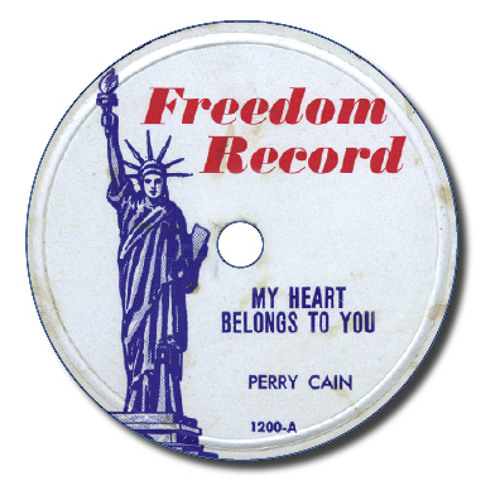 Perry Cain - My Heart Belongs To You (Freedom 1200-A)