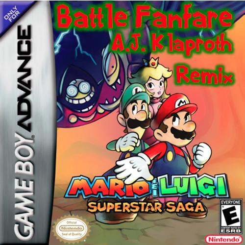 Mario & Luigi: SS - Battle Fanfare (A.J. Klaproth Remix)