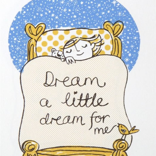 Dream A Little Dream (Cover by Carolina Jansen)