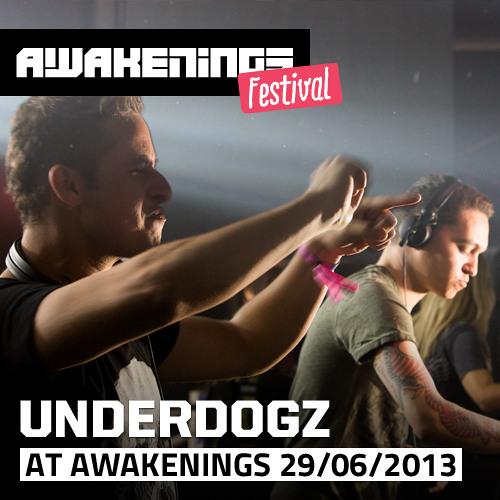 Underdogz at Awakenings Festival 2013