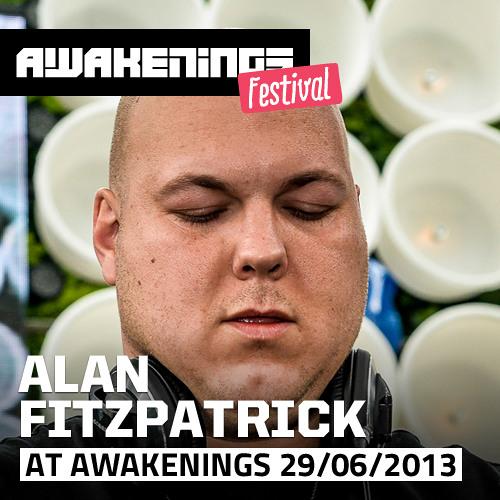 Alan Fitzpatrick at Awakenings Festival 2013