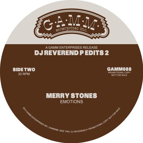 "Merry Clayton ""Emotion"" DJ Reverend P Re-drum Edit"