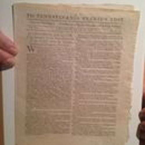 Rare Printing of the Declaration of Independence Sold