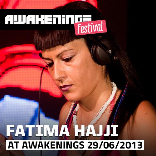Fatima Hajji at Awakenings Festival 2013