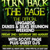 Scott Page Arena Pt1 // Turn Back The Page // Friday 2nd & Saturday 3rd August