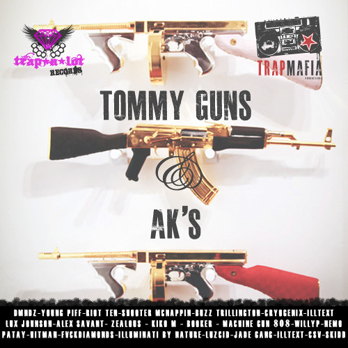 Machine Gun 808's -  Call Me Kevin [Tommy Guns & AKs]
