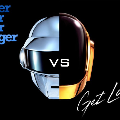 Daft Punk - Get Lucky Vs Harder Better Faster Stronger(Dj Alone Remix)