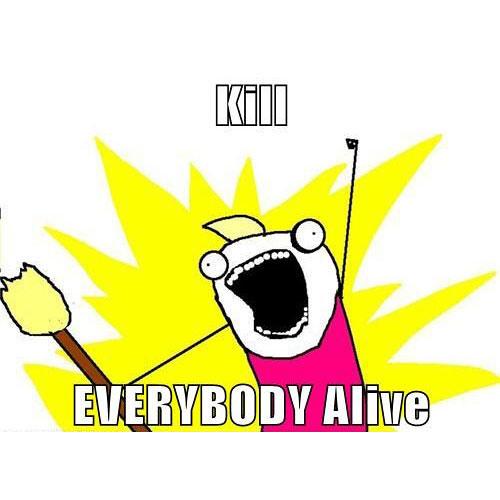 Skrillex x Empire Of The Sun & Zedd - Kill EVERYBODY Alive (THE Tim Cogan Bootleg)