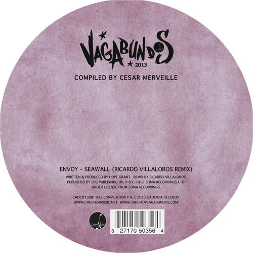 """Vagabundos 2013 (Vol. II) - Cesar Merveille - 12"""" vinyl sampler (CADCD13SB) [Teaser]"""