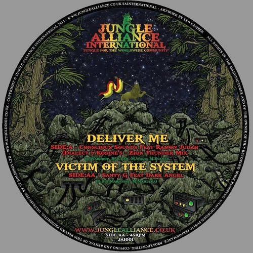 """Victim Of The System ft Dark Angel by Santy G - SIDE AA: Out Now on 12"""" Vinyl & DL"""