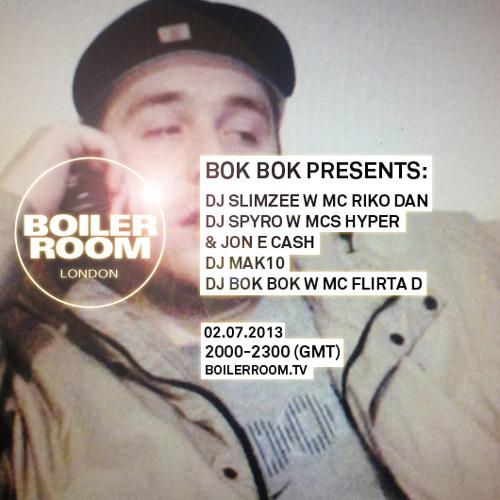 Bok Bok ft Flirta D, Rhimez & Mc Shaga 40 min Boiler Room mix