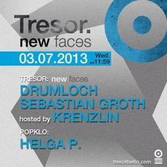 Sebastian  Groth - Dj Set - live at Tresor -  Berlin 03-07-2013