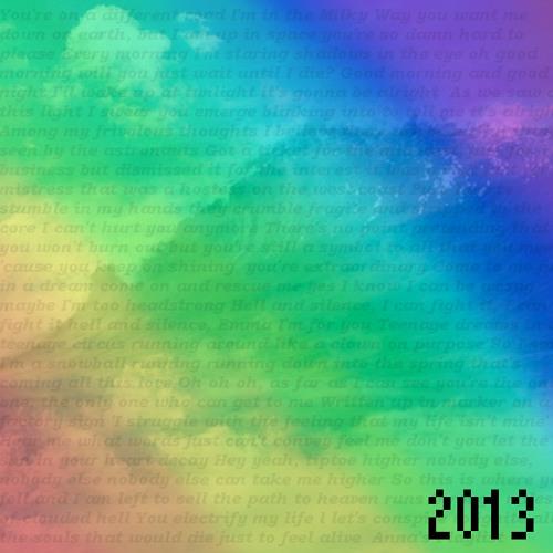 Anna's Summer Playlist 2013