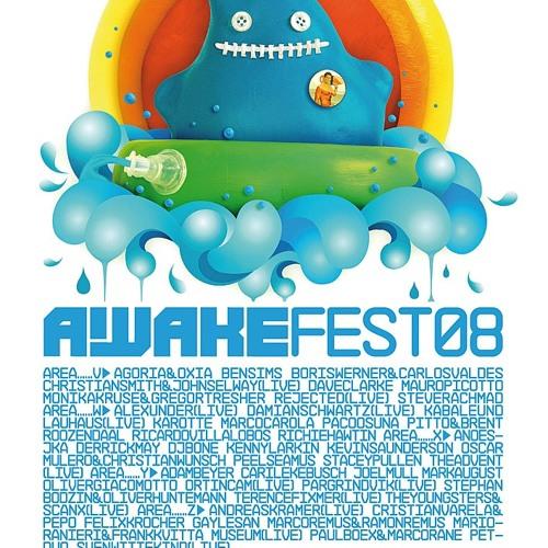 Awakefest 2008 @ Spaarnwoude, Netherlands 28.6.2008 /w Frank Kvitta
