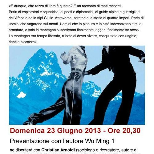 Point Lenana Pisogne 23/06/2013 Intervento Maurizio Vito