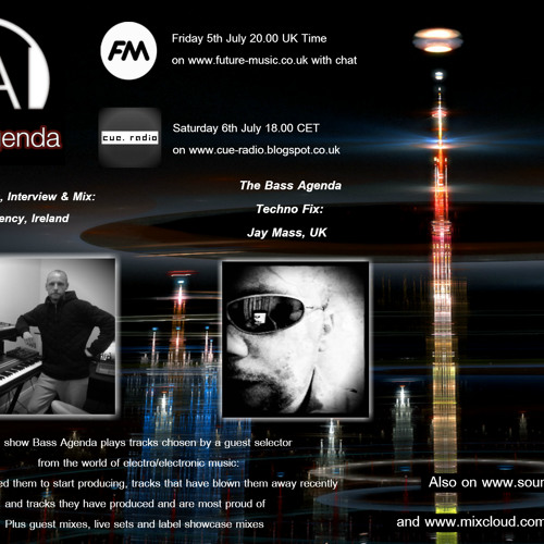 Bass Agenda 57 with guest selections & mix from Rogue Frequency plus Techno Fix